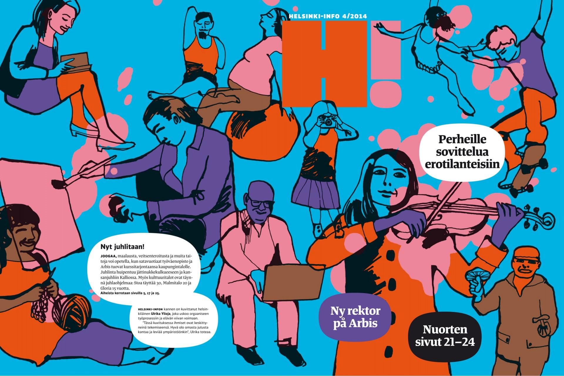 Helsinki-Info magazine